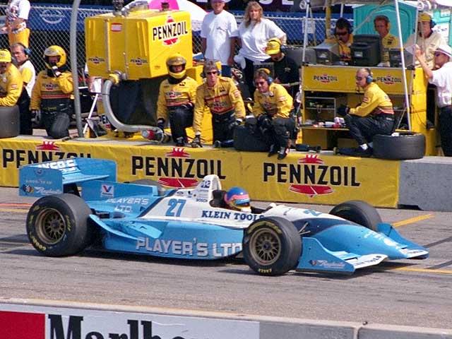 Bobby Rahal Mercedes >> Race By Race - Laguna Seca 1995