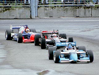 Blundell Hounding Moore and Andretti