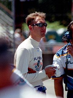 Greg Moore During Qualifying Sessions