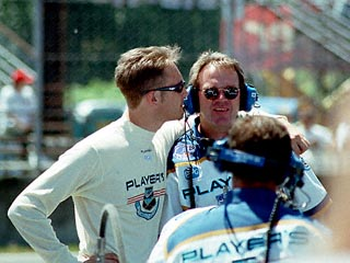 Greg Moore in Pit Lane