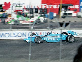 Greg Moore on the Track