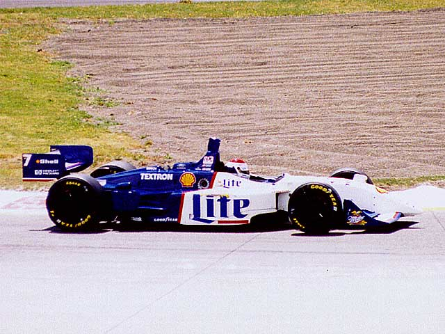 Bobby Rahal Mercedes >> Race By Race - Portland 1997 - Saturday Qualifying